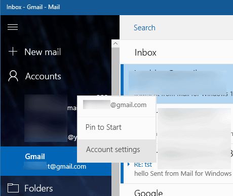actualizar contraseña de gmail en Windows 10 pic5