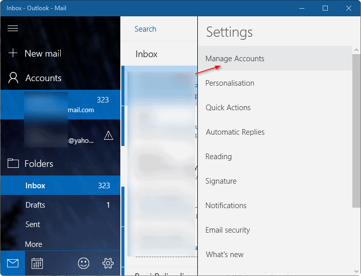 actualizar contraseña de gmail en Windows 10 pic9
