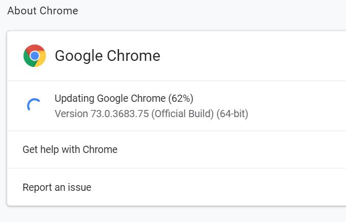 update google chrome in Windows 10 pic3