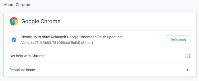 update google chrome in Windows 10 pic4
