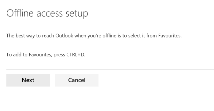 use Outlook.com offline access pic5