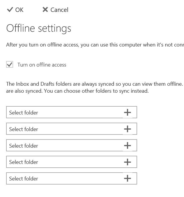 use Outlook.com offline access pic7