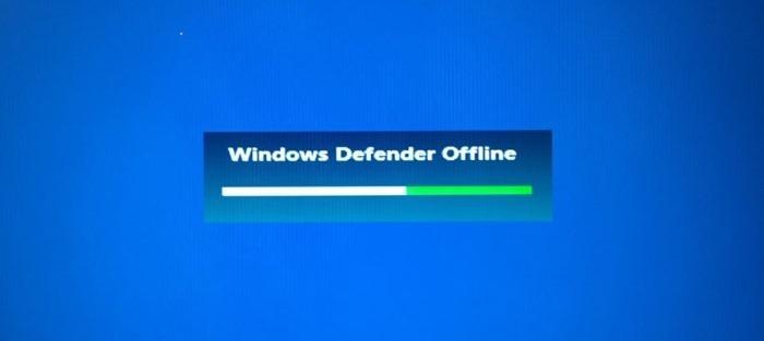 use Windows defender exploración fuera de línea en Windows 10 pic1