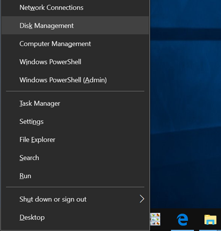 use disk management to partition USB on Windows 10 pic6