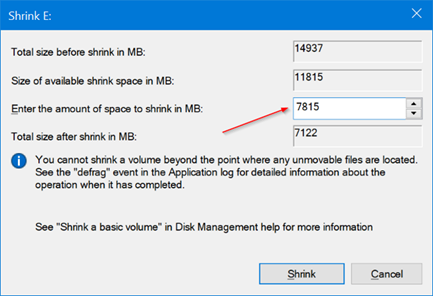 use disk management to partition USB on Windows 10 pic8