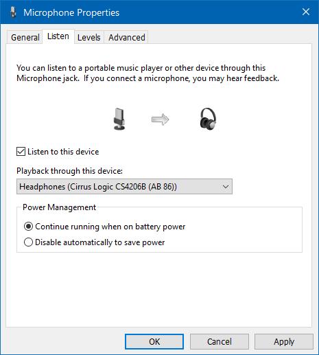 usar altavoz y auriculares al mismo tiempo en Windows 10 step6