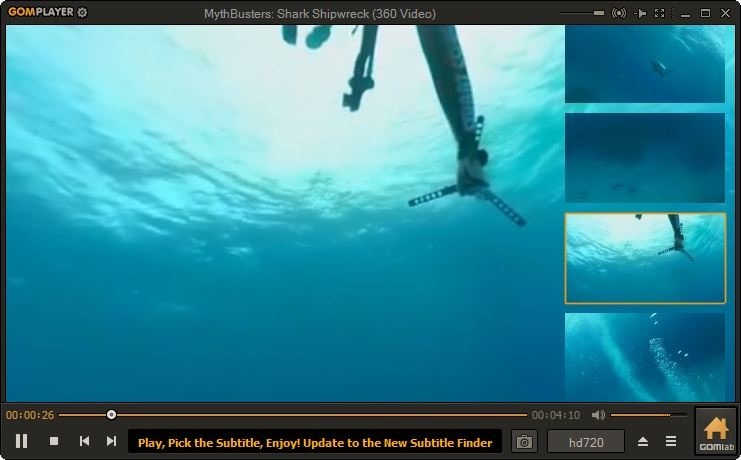 ver vídeo de 360 grados en Windows 10 pic4