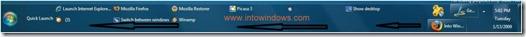 Windows 7 full taskbar 2