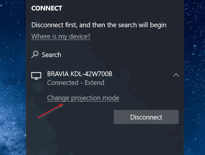 conectar de forma inalámbrica el ordenador portátil de Windows 10 a TV pic4