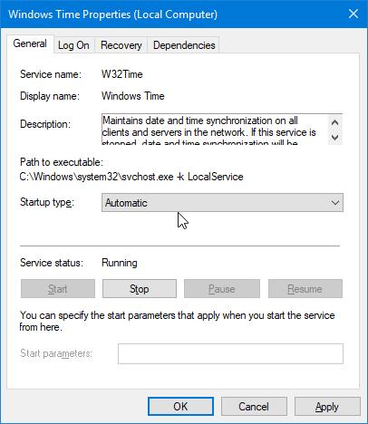 fecha y hora incorrectas en Windows 10 pic6