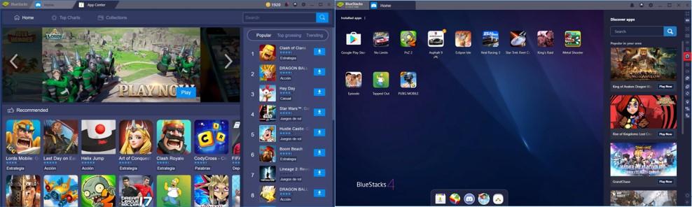 bluestacks emulador de android para windows 10