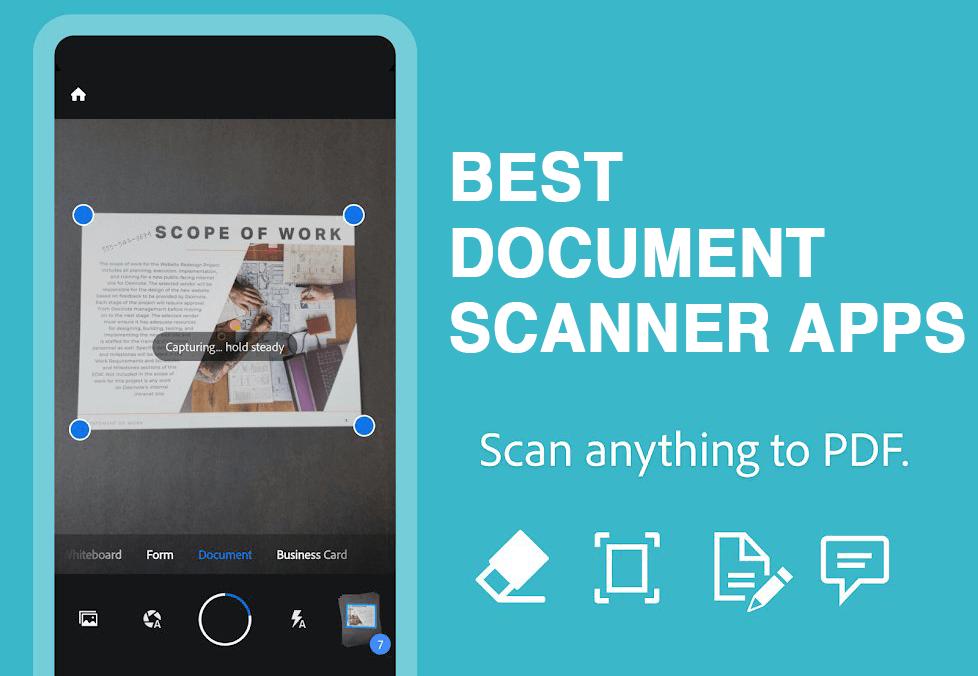 9 Mejores Aplicaciones De Escaneo De Documentos Para Android 2021